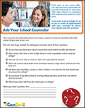 PDF of Ask Your School Counselor Worksheet Opens in a new tab